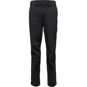 Black Diamond Stormline Stretch Full Zip Rain Pants Men Black